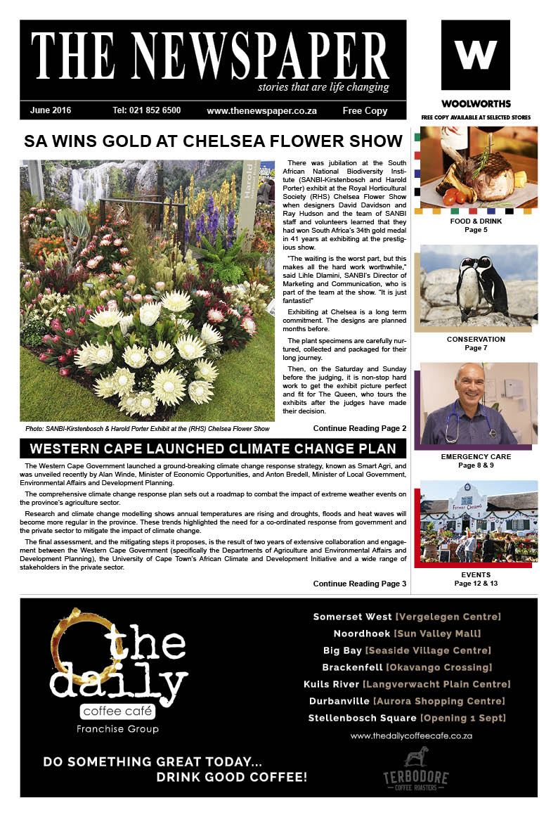The Newspaper - 30th Edition